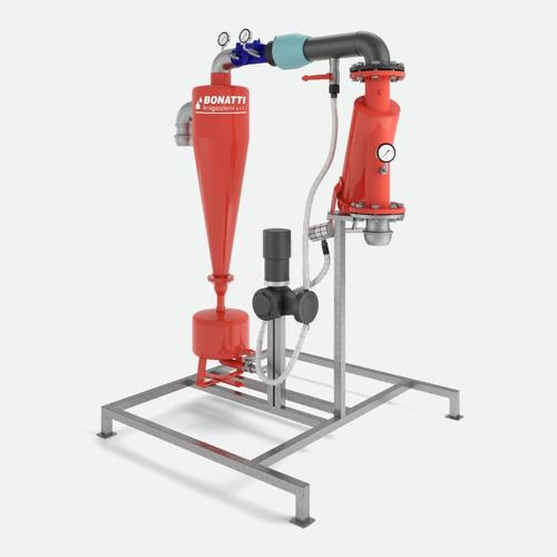 Unità di filtrazione mobile con idrociclone