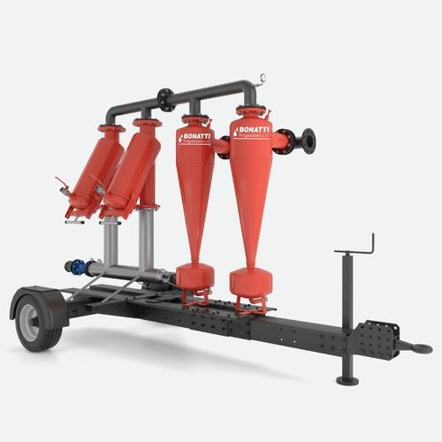 Unità di filtrazione mobile con idrocicloni
