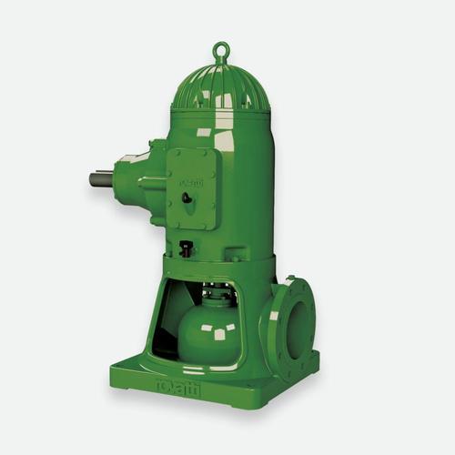 Pompe verticali con testata per motore endotermico